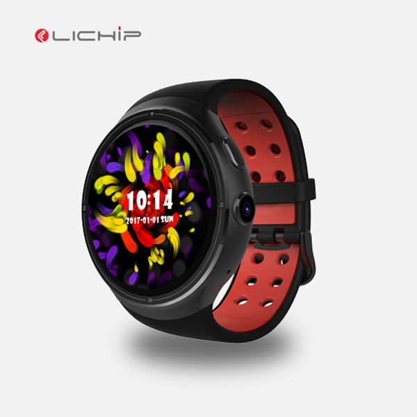 LICHIP new fashion round screen gps gprs camera L-<strong>Z10</strong> smart watch