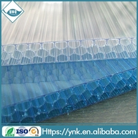 cellular polycarbonate exterior wall cladding plastic