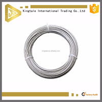 7x19 cheap custom stainless steel wire cable china manufacturer