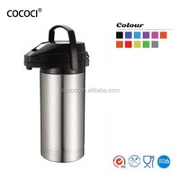Pupular Style Stainless Steel Vacuum Air Pot ,Stainless Steel Thermos Vacuum Pot