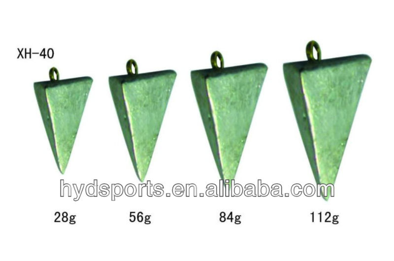 HYD-XH-40 high quality fishing net lead weights