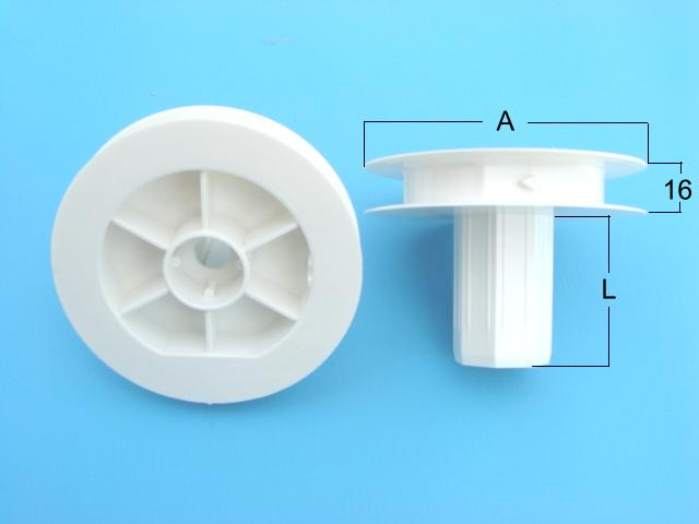 Plastic Pulley For Ball Bearing For Rolling Shutters