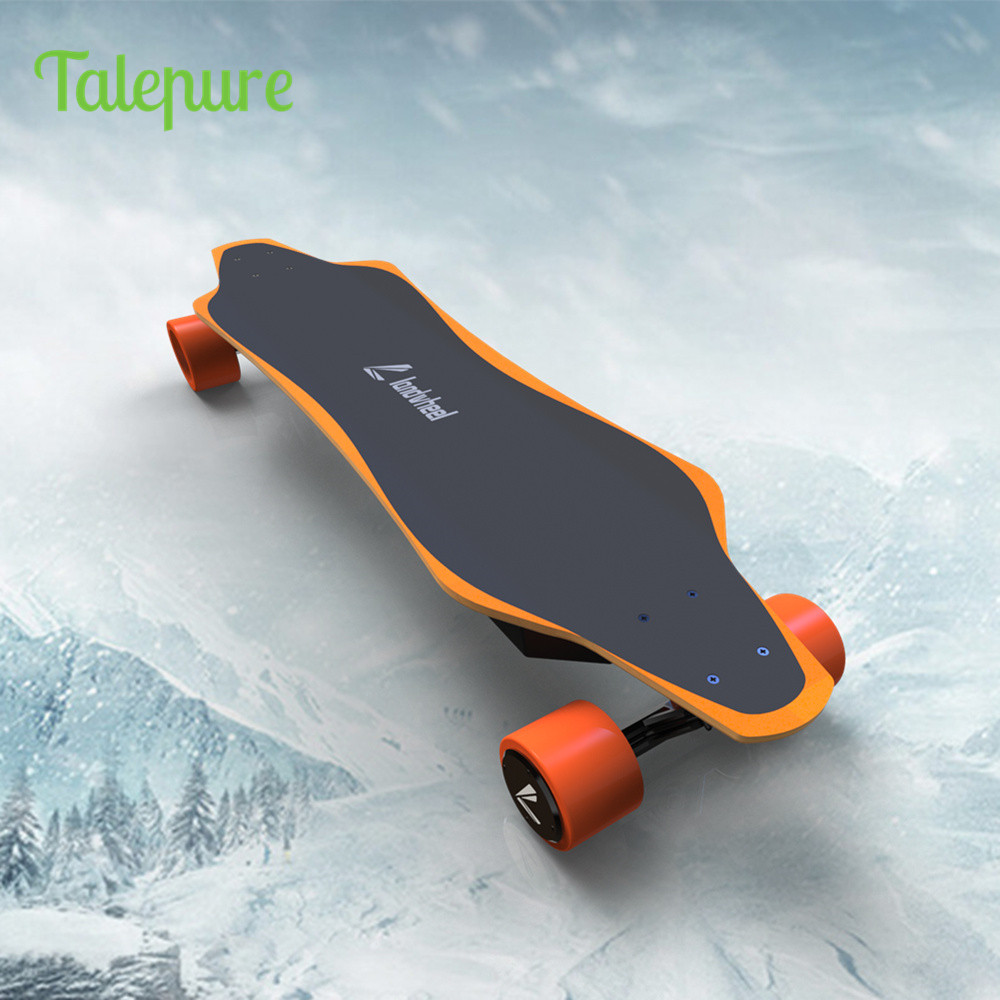 Much lighter much thinner electric skateboard 35km/h onewheel hoverboard with talepure Dual Brushless Motors