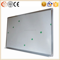 China magnetic ceramic whiteboard standard size