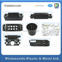 China plastic injections parts with Good Quality and best factory Price Injection Molded Small Plastic Parts Customized