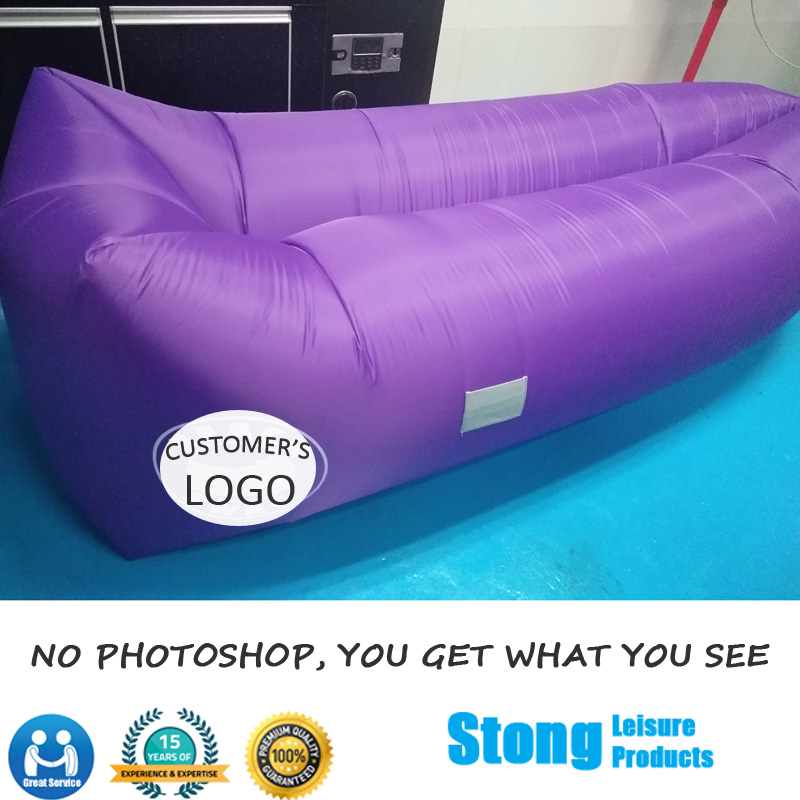 Outdoor Inflatable Lazy Air Lounger Bean Bag