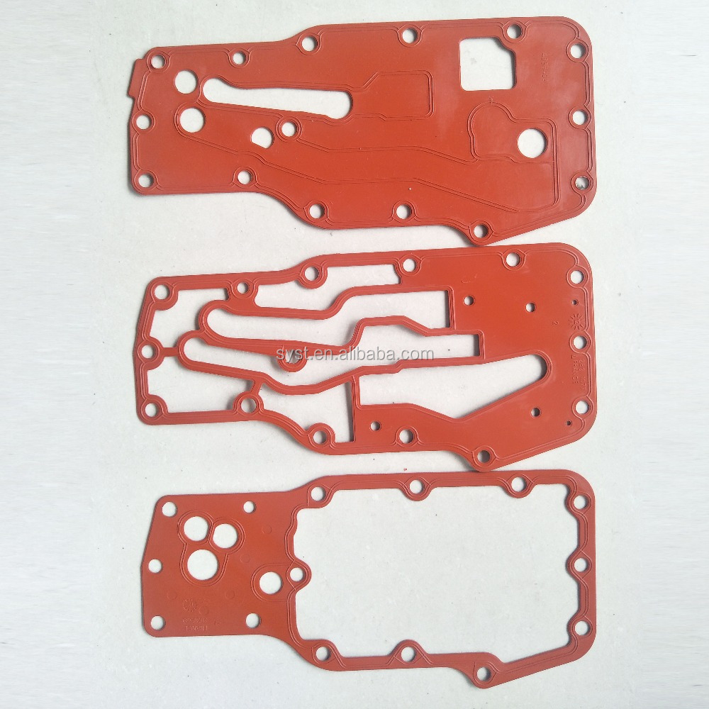 Heavy Truck Engine Parts ISDe ISBe Oil Cooler Core Gasket 4896409