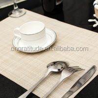 PVC Plastic Table mat/dinner placemat/table cloth
