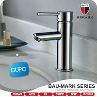Chrome plated single handle brass basin faucet cheap faucet