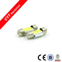 12V 3W COB 9SMD 31mm White Led Car top reading Dome Light