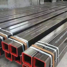 Black square pipe seamless square tubing SHS RHS seamless steel tubes