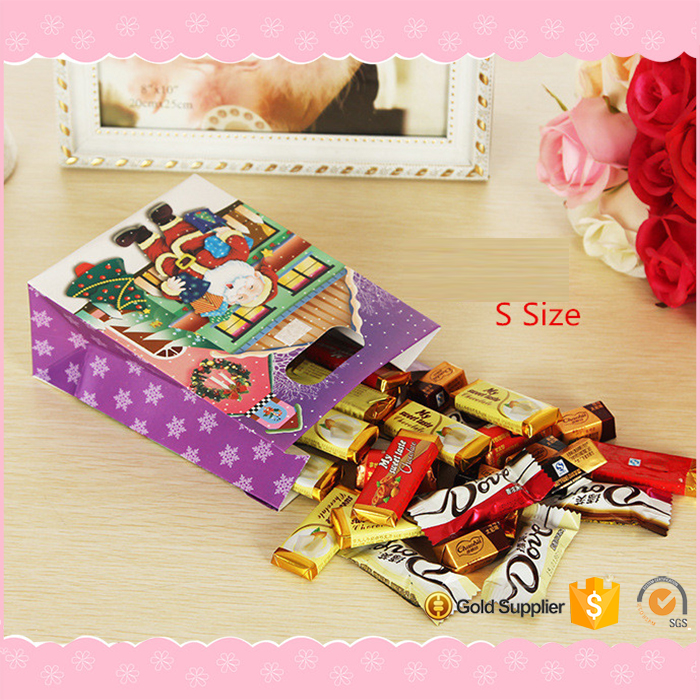 Hot sale Lovely customized paper gift bag