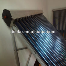 2013 update direct flow vacuum tube solar collector/pressure solar energy water heater