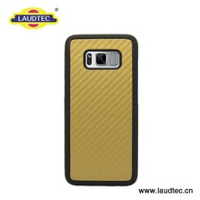 Carbon fiber TPU back Phone cover for Samsung galaxy S8 S8 plus