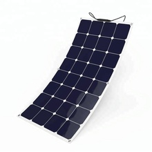 SunPower High Efficiency 100W flexible solar panel for boat cabin tent RV