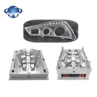 making automotive parts injection mold for car light mould
