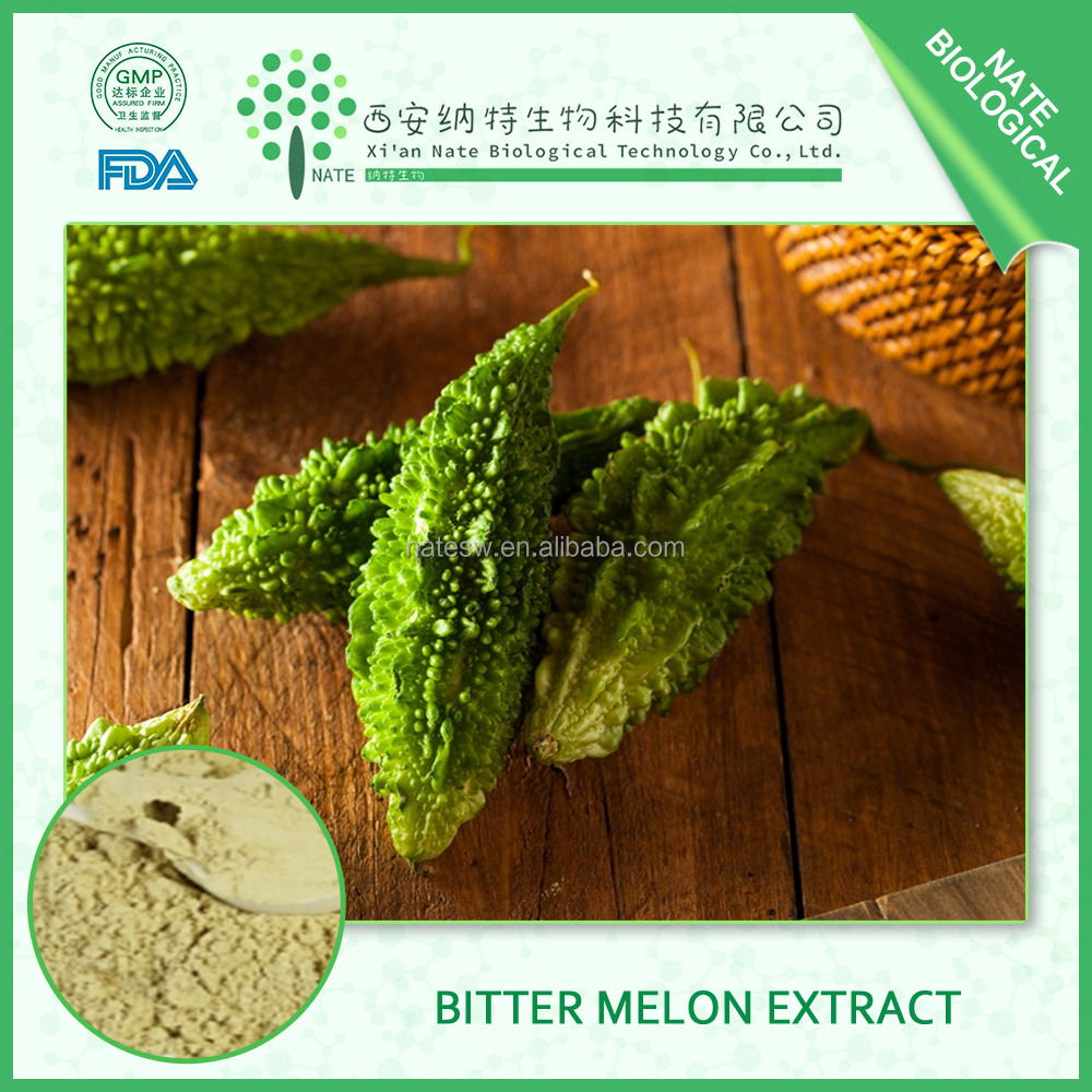 Hot Selling Plant Powder Bitter Melon Extract with Charantin 20:1