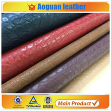 2016 hot selling pvc leather with animal design with good quality in yiwu stocklots