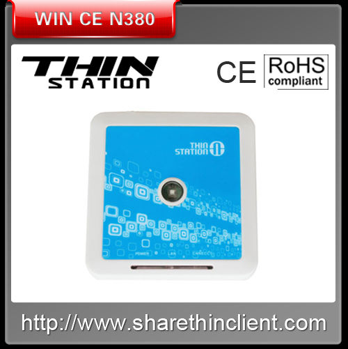very cheap Win CE 6.0 Thin Client N380 PC Station with 3 USB Onboard 128 MB RAM