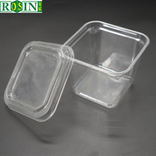 OEM fruit packaging large plastic PVC PET transparent plastic storage box