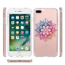 Clear minimalist custom printing cell phone case cover for iphone 7 plus