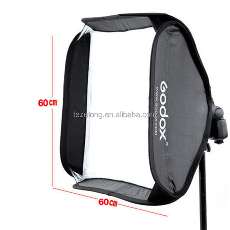 How sell Godox 60*60 cm foldable Soft Box Suitable For Godox S-type Bracket Camera Flash