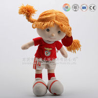 New design promotion player doll stuffed plush football player toys