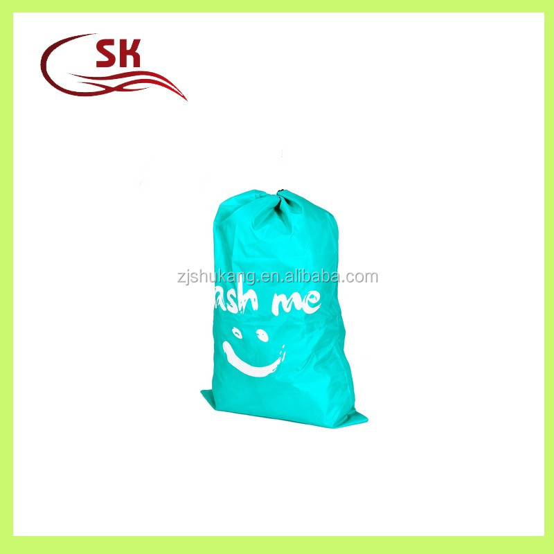 Zhejiang Shukang oem custom print pattern waterproof dry cleaning laundry bag for laundry wholesale