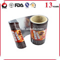 custom food packaging metalized opp film