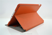 Hand-made stitching concise style case for iPad mini 2/ mini 3