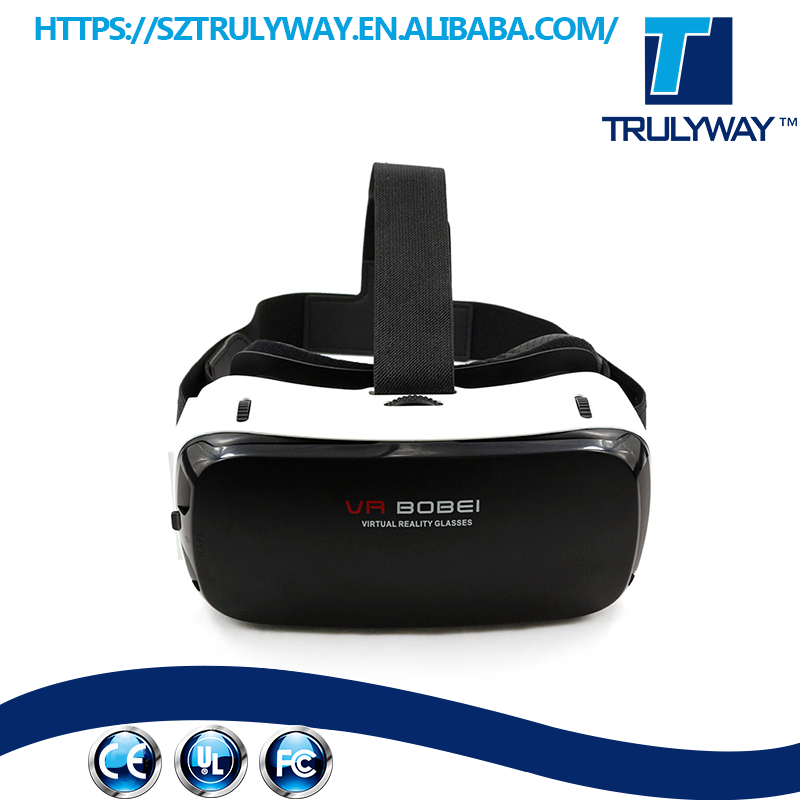 Best selling VR box 2.0 3d Virtual Reality Helmet Video Glasses With Bluetooth Touch