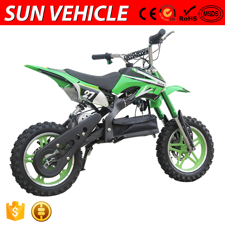 Hot Sell Safe Mini 2 Stroke Electric Dirt Bike 36V For Kids