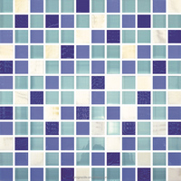 China supplier crystal glass mosaic tile for bathroom design factory price(PM23003)