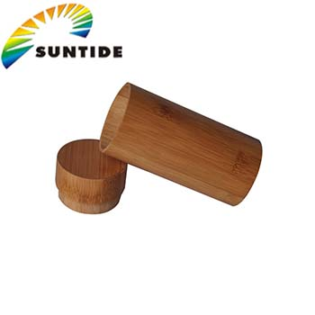 Wholesale bamboo wood tube case fashionable wood products for sunglasses packaging
