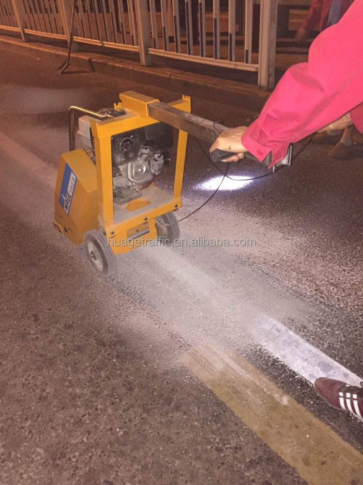 WAGE Road Marking Removal Machine/Pavement Cleaning Equipment