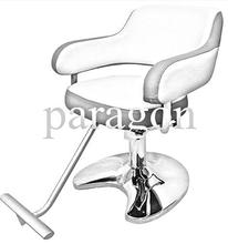 white and pink color styling chair salon furnitures