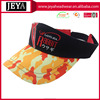 Flame bill racing coolhead Visor Multi color Red black cotton embroidered Sports Golf Visor