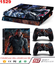 Vinyl Sticker Skin printer For PS4 for PlayStation 4Console 2Controller skins