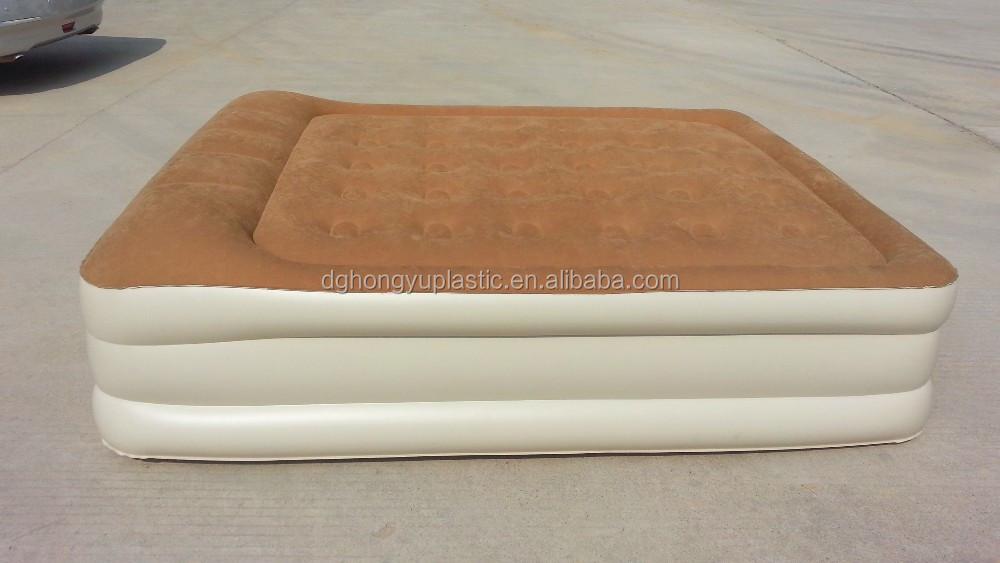 fortable High Raised Air Bed Air Mattress Inflatable