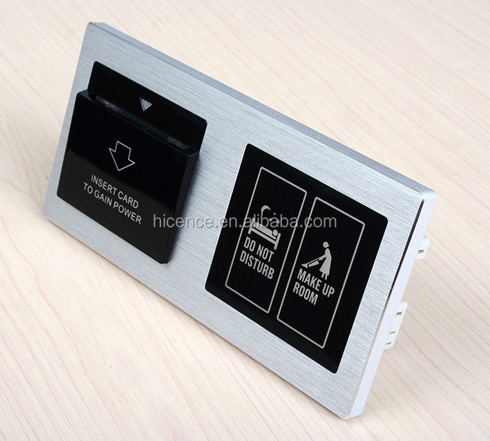 Hotel IOT Smart Control Room System, doorplate, indoor switch, socket, HDMI and USB