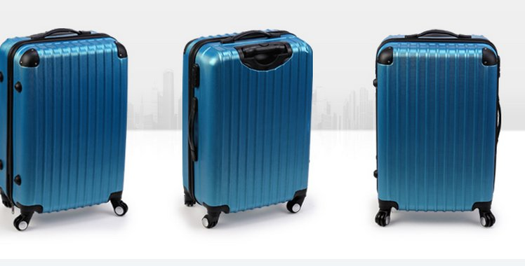 Design Your Personalized ABS PC Trolley Suitcase/Pull Rod Box/Luggage trolley mold maker