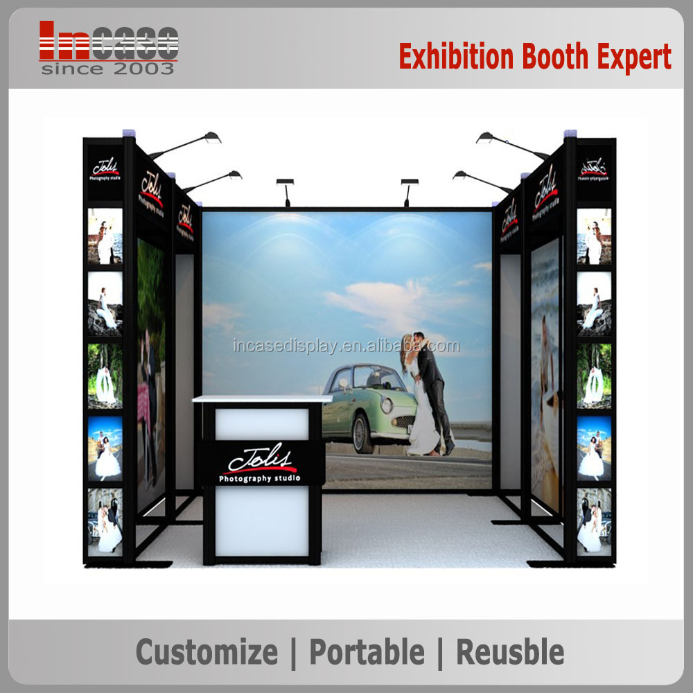 Exhibition Booth Accessories : Optional configurable exhibition equipment modular