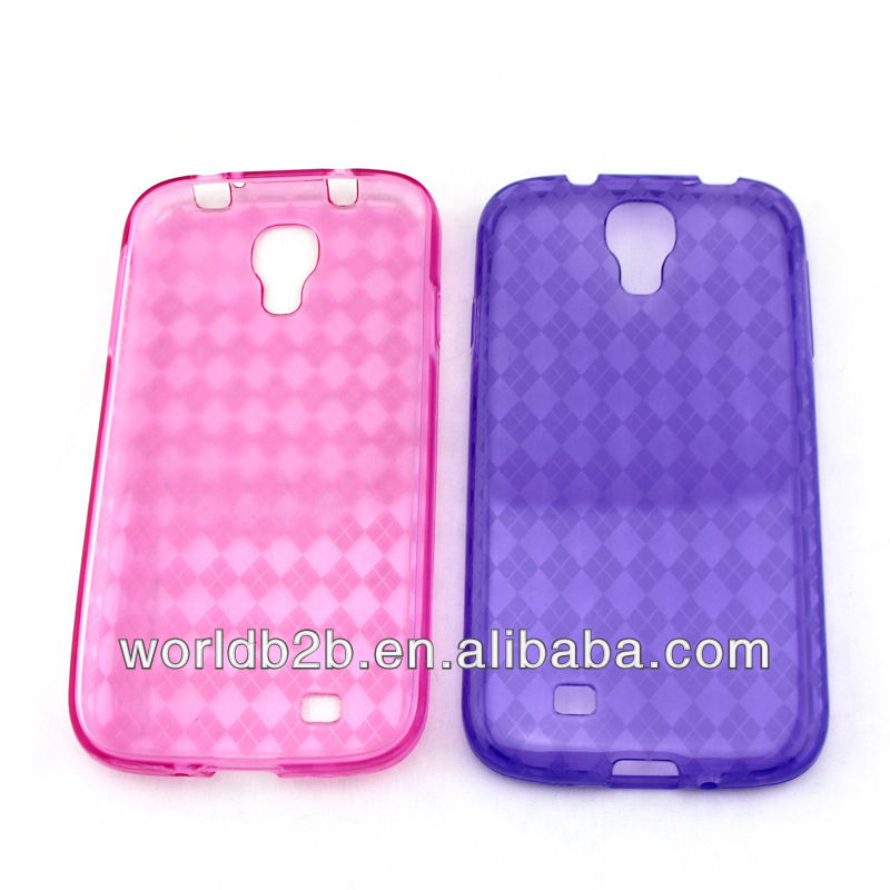 Diamond design TPU Gel Case Cover for Samsung Galaxy s4 mini