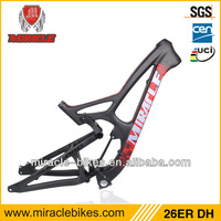 china supplier carbon frame can open model carbon Downhill bike,chinese carbon bicycle frame,26ER mountain frame