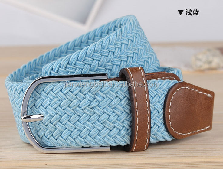 2014 new design manufactory stretch belts hwo with SGS