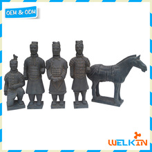 Chinese terracotta warriors and horses replica for garden decoration