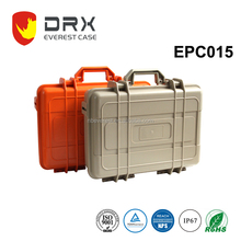 Ningbo Everest IP67 Custom hard waterproof plastic equipment tool case with wheels& handle