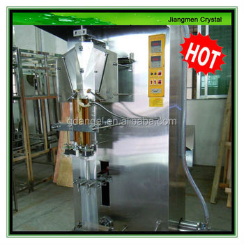 100ml- 500ml Automatic Liquid Bag Filling and Sealing Machine