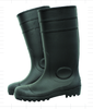 NMSAFETY black pvc rain boots/work boots S5 standard with steel toe cap and steel midsole