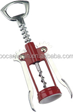 wine tools eco-friendly zinc alloy red wine corkscrew wine bottle opener factory